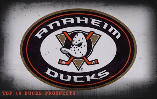 Top 10 Anaheim Ducks prospects