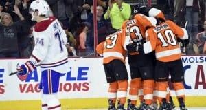 Montreal Canadiens and Philadelphia Flyers