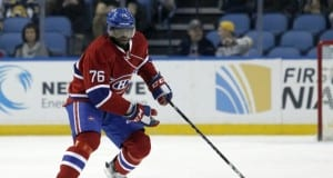 P.K. Subban of the Montreal Canadiens