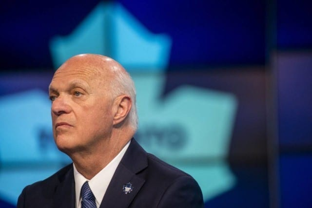 Lou Lamoriello was named president of hockey operations for the New York Islanders.
