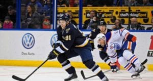 Vladimir Tarasenko against the Edmonton Oilers