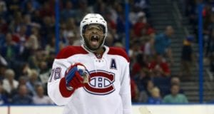 P.K. Subban was left of Team Canada 2016 World Cup of Hockey team