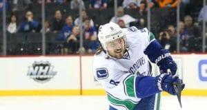 Chris Tanev of the Vancouver Canucks