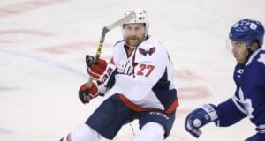Karl Alzner of the Washington Capitals