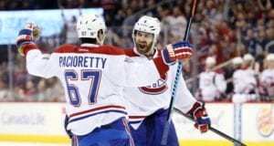 Max Pacioretty and Greg Pateryn