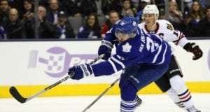 The Chicago Blackhawks have inquired about Toronto Maple Leafs James van Riemsdyuk
