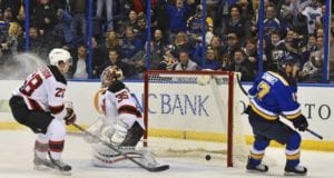 Could the St. Louis Blues and New Jersey Devils consider a trade involving Jaden Schwartz and Cory Schneider