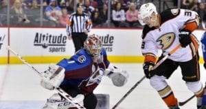 Semyon Varlamov and Jakob Silfverberg