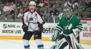 Matt Duchene and Kari Lehtonen