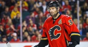Calgary Flames winger Troy Brouwer
