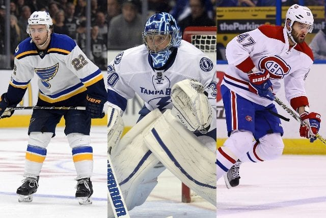 Kevin Shattenkirk, Ben Bishop and Alexander Radulov are our top 2017 NHL free agents