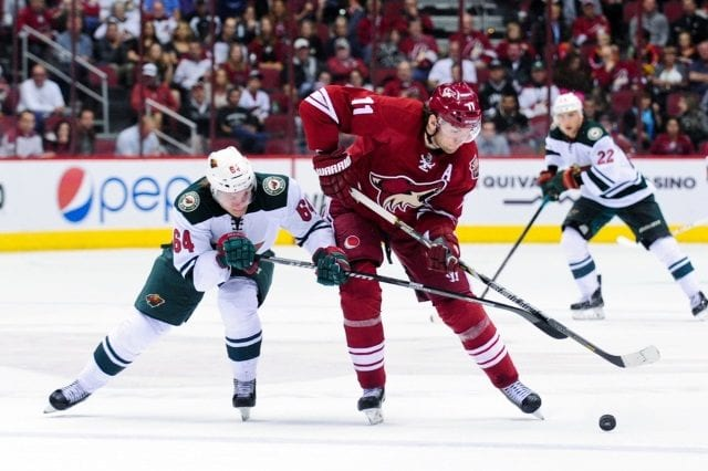 Looking at why the Arizina Coyotes and Minnesota Wild made the Martin Hanzal deal