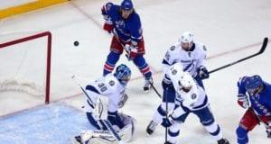 Tampa Bay Lightning and New York Rangers
