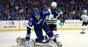 Tampa Bay Lightning and the Dallas Stars