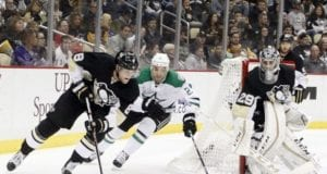 The Pittsburgh Penguins and Dallas Stars have held preliminary talks about Marc-Andre Fleury