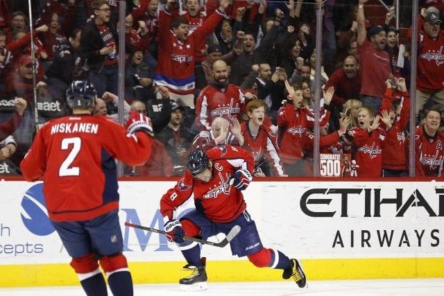NHL power rankings Washington Capitals