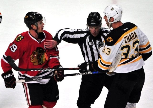 The Blackhkawks and Kings have reportedly inquired about Boston Bruins Zdeno Chara