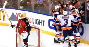 Roberto Luongo and Travis Hamonic