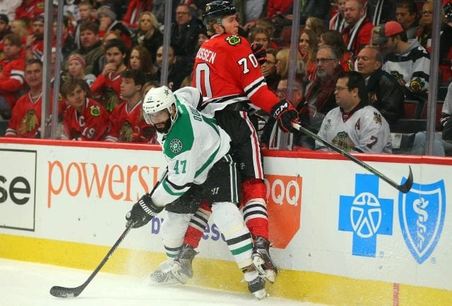 The Chicago Blackhawks and maybe the Montreal Canadiens have interest in Johnny Oduya