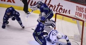Ryan Miller and Jannik Hansen are two players the Vancouver Canucks have to make decisions on