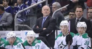 Dallas Stars head coach Lindy Ruff