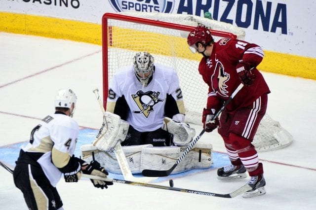 Marc-Andre Fleury and Shane Doan