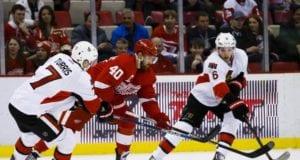 Kyle Turris and Bobby Ryan of the Ottawa Senators
