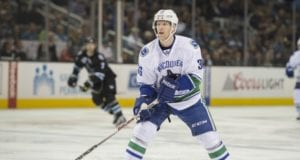 The Vancouver Canucks trade Jannik Hansen to the San Jose Sharks