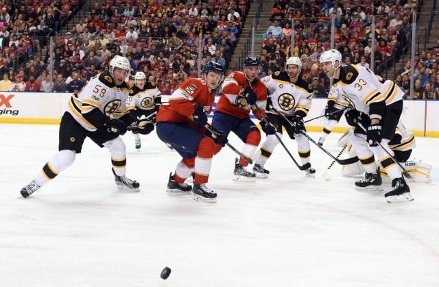 Florida Panthers and Boston Bruins