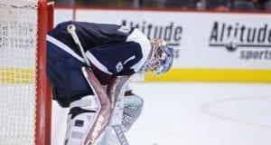 Semyon Varlamov of the Colorado Avalanche