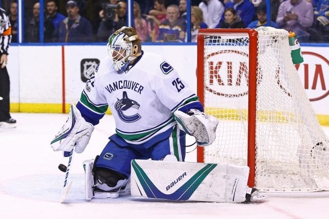 Vancouver Canucks goalie Jacob Markstrom is done for the year as he needs knee surgery