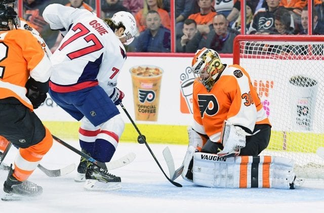 Reports have the Philadelphia Flyers and Michal Neuvirth talking contract extension