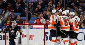Buffalo Sabres and the Philadelphia Flyers