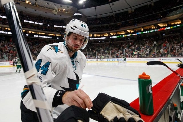 San Jose Sharks defenseman Marc-Edouard Vlasic will a free agent after next season, but he hopes to remain with the Sharks