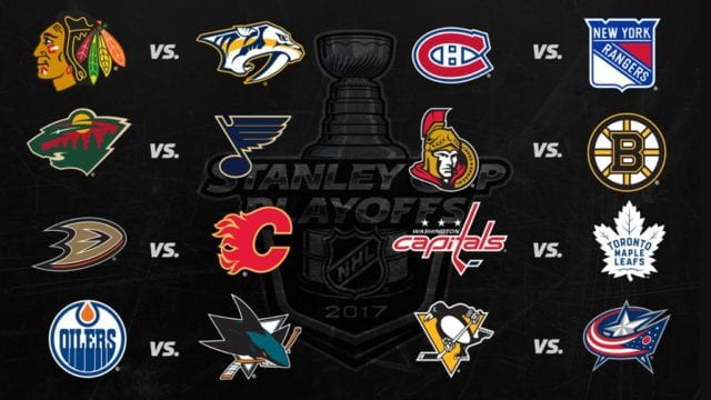 Stanley Cup playoffs matchups and schedule