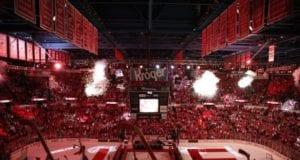 The Detroit Red Wings closing down Joe Louis Arena