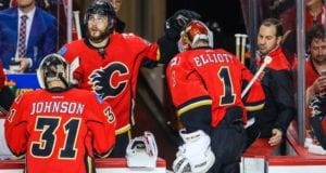 Brian Elliott has likely played his last game in a Calgary Flames jersey