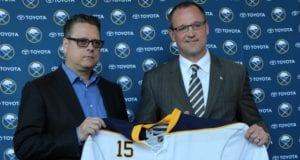 The Buffalo Sabres fired Tim Murray and Dan Bylsma today