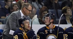 Jack Eichel doesn't want to sign a contract extension with the Bufffalo Sabres if Dan Bylsma is the coach