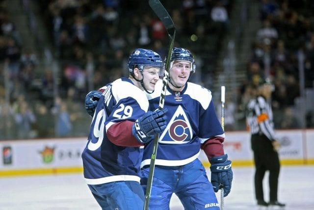 Matt Duchene and Nathan MacKinnon