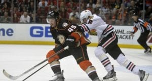 Sami Vatanen of the Anaheim Ducks