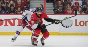 Clarke MacArthur of the Ottawa Senators