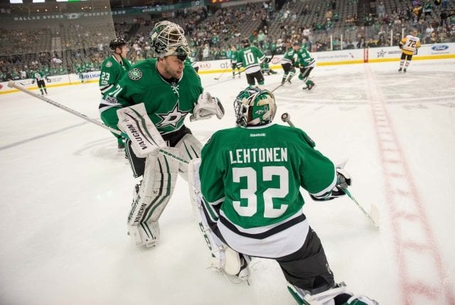 Dallas Stars will need move at least one of Kari Lehtonen and Antti Niemi