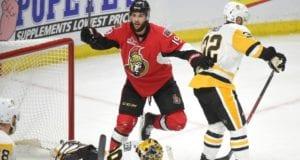 Pittsburgh Penguins pull Marc-Andre Fleury in 5-1 loss to the Ottawa Senators