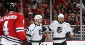 Dustin Brown and Marian Gaborik could be buyout candidates for the Los Angeles Kings
