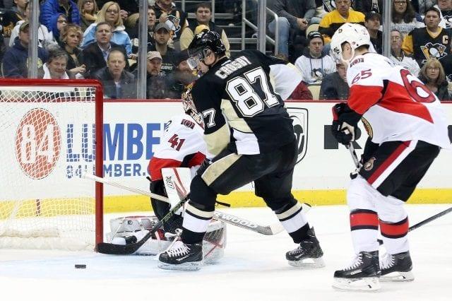 Sidney Crosby and Erik Karlsson
