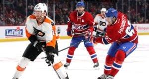 Philadelphia Flyers center Sean Couturier