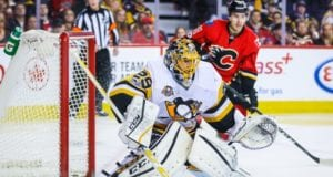 Marc-Andre Fleury could be at the top of the Calgary Flames and Vegas Golden Knights list
