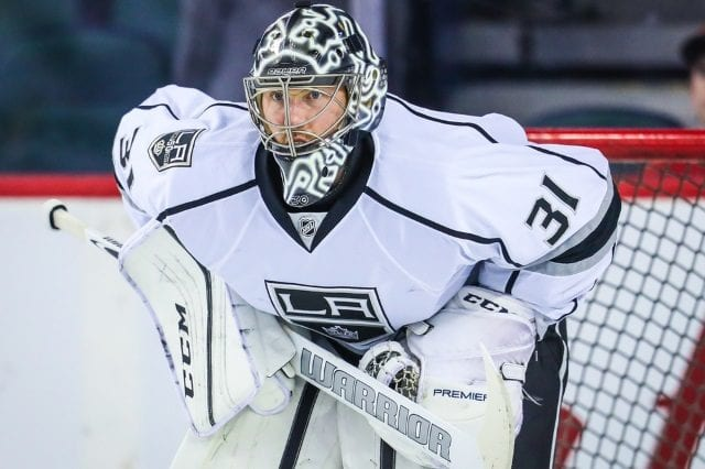 The Los Angeles Kings traded the rights to Ben Bishop to the Dallas Stars