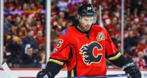 The Calgary Flames left Troy Brouwer unprotected for the expansion draft